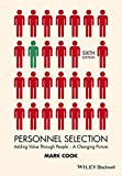 Personnel Selection - Adding Value Through People- A Changing Picture 6e
