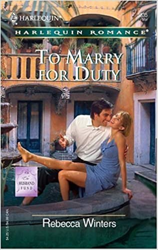 To Marry for Duty (Harlequin Romance)