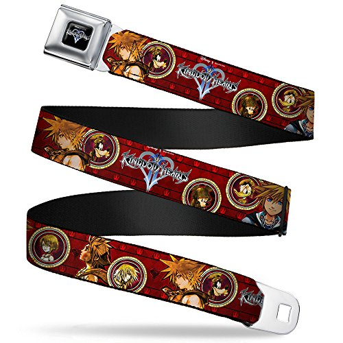 Buckle-Down Seatbelt Belt - KINGDOM HEARTS Sora Poses/Friend Cameos - 1.5