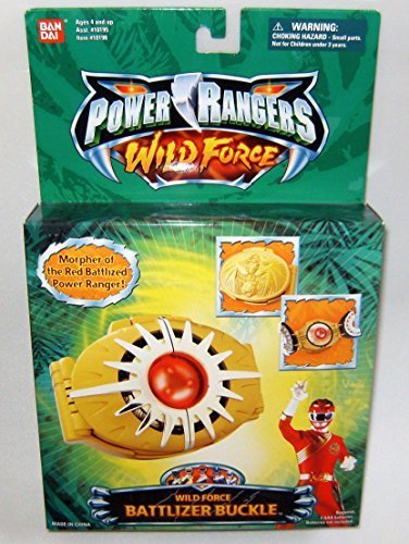 Power Rangers Wild Force Battlizer Buckle