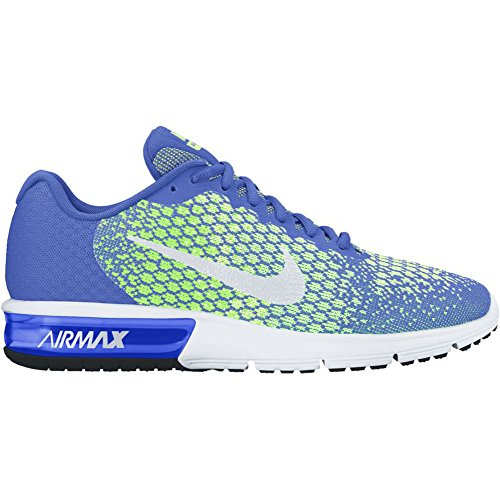 Running Max Nike Green Sequent Ghost Medium Mens 2 Shoes Air Blue White 5XXrqwZ