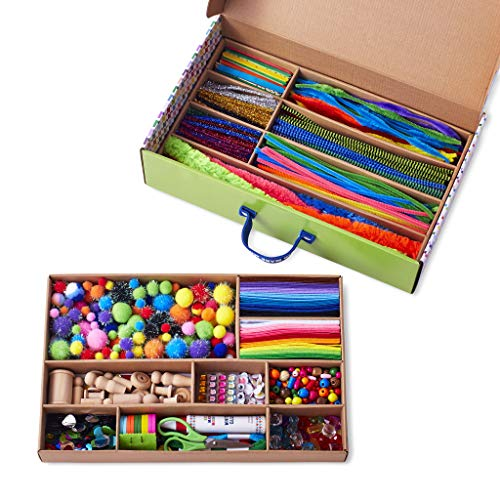 Kid Made Modern Arts and Crafts Supply Library – Coloring Arts and Crafts Kit