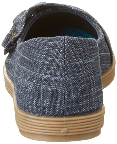 Navy Blowfish Ballet Garden Blau Flats Women's XF7qw8