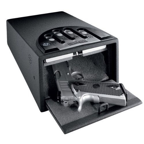 Gun-Vault-Gv2000d-Multi-Deluxe-16-Gauge-Steel-Soft-Foam-Inside-Motion-Detector-Audio-Alarm