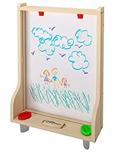 Little Partners Art Easel - Natural: Learning Tower Add-On Chalk Board & Paint Easel - Transform Your Learning Tower into a Fun Art Station - For Use with the Learning Tower (Sold Separately)