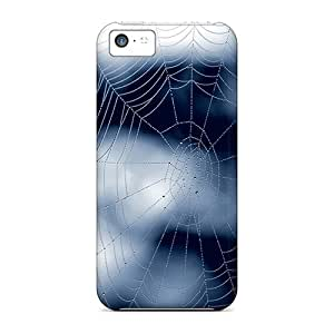 Awesome Case Cover/iphone 5c Defender Case Cover(blue Web)