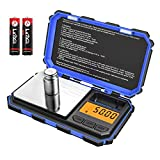 (2019 New) Brifit Digital Mini Scale, 200g-0.01g Pocket Scale, 50g calibration weight, Electronic Smart Scale, LCD Backlit Display, 6 Units, Auto Off, Tare (Battery Included)
