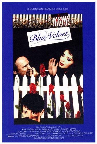 Blue Velvet Poster Movie 1986