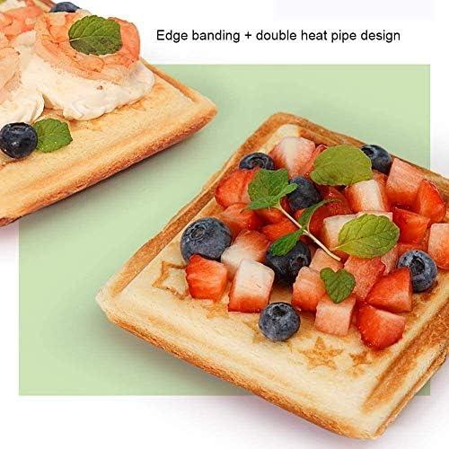 Hexiao 750W Sandwich Multifonctions, Maison Double Face Chauffage à Pain avec Easy de Clean, Skid Base de plaques Anti-adhésives Léger et Compact20 xiao1230