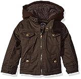 Urban Republic Boys Infant Peached Cotton Jacket, Olive, 18 Months