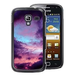 A-type Arte & diseño plástico duro Fundas Cover Cubre Hard Case Cover para Samsung Galaxy Ace 2 (Clouds Mood Nature Rain Sad)
