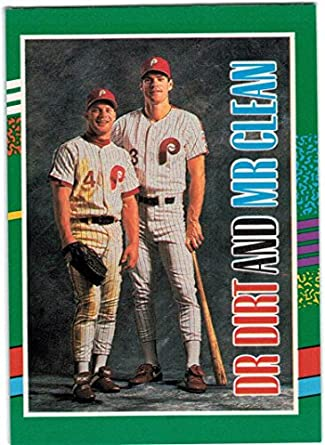 Amazoncom 1991 Donruss With The Rookies Philadelphia Phillies Team