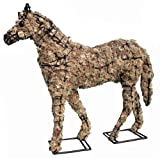 Cheap Topiary Horse 17″ Filled with Sphagnum Moss