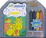 Tub Time Noah's Ark Bath Book with Bath Crayons
