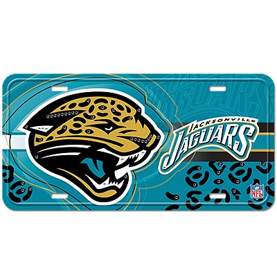 NFL Jacksonville Jaguars Street Flair Plate by Littlearth
