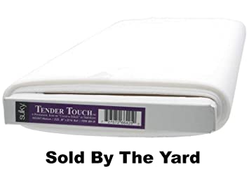 Sulky of America Cut Away Tender Touch Iron-On Backing White June Berry 8 by 9 yd