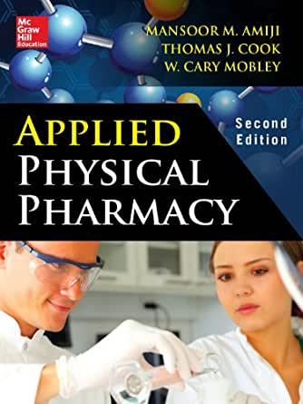 Applied Physical Pharmacy 2 E Kindle Edition By Mansoor border=