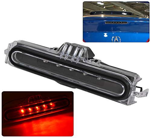 Replacement Black Housing LED Third Brake Light Lamp For Acura RSX DC5 ()