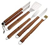 Mr. Bar-B-Q 5-Piece Finger Grip Tool Set