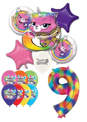 Amazon.com: Rainbow Butterfly - Ramo de globos con diseño de ...