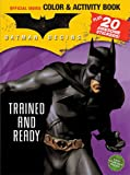 Batman Begins Color and Activity Book with Stickers, , 0696223929