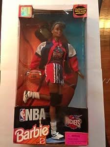 Barbie NBA Rockets Cheerleader Doll - African-american (Black) Version
