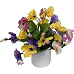 Ella-and-Lulu-Sweet-Little-Pansy-Floral-Arrangement-10-in-Mixed