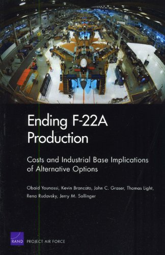 Ending F-22A Production: Costs and Industrial Base Implications of Alternative Options