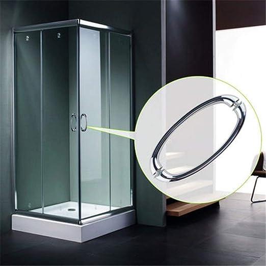 Pomos de las puertas Cuarto de baño puerta corredera de cristal ...