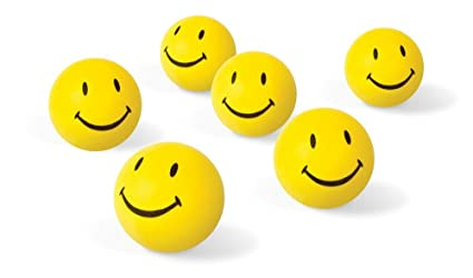 buy 12 pcs set of smiley face squeeze ball online at low prices in