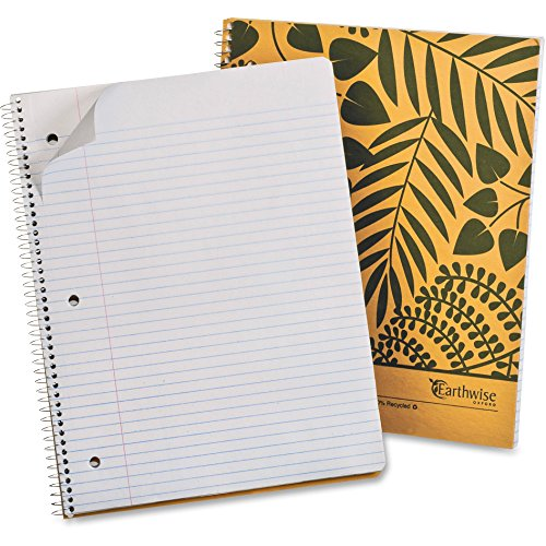 Ampad Recycled Wirebound Notebook (Ampad Recycled Wirebound Notebook - 80 Sheet - College Ruled - Letter 8.5