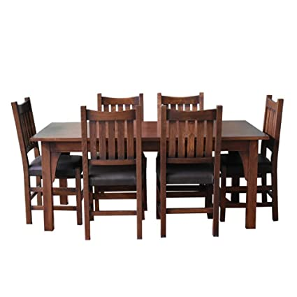 Fantastic Amazon Com Crafters And Weavers Mission 70 Solid Oak Alphanode Cool Chair Designs And Ideas Alphanodeonline