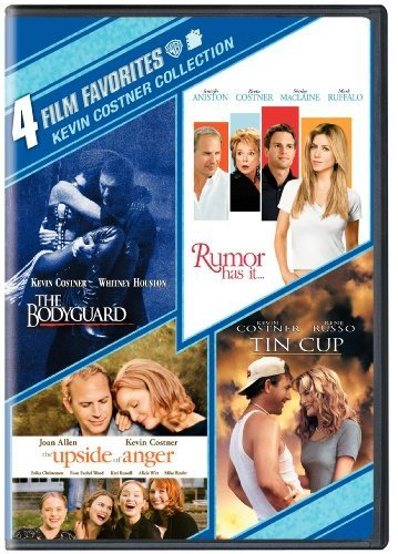 4 Film Favorites: Kevin Costner (The Bodyguard: Special Edition, Rumor Has It, Tin Cup, Upside of Anger) by Warner Manufacturing