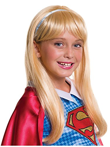 Rubie's Costume Girls DC Super Hero Supergirl Wig]()