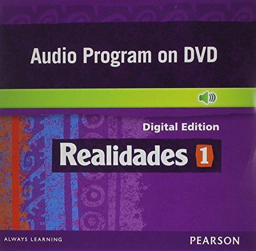 REALIDADES 2014 AUDIO PROGRAM ON DVD-ROM LEVEL 1