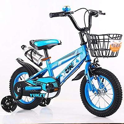 Jiamuxiangsi Bicicleta niños con Ruedas de Entrenamiento Asiento ...