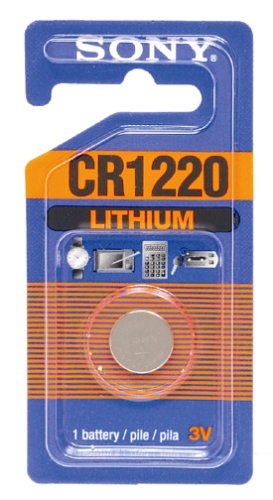 Sony Pda Battery - Sony CR1220-B Lithium Coin Battery