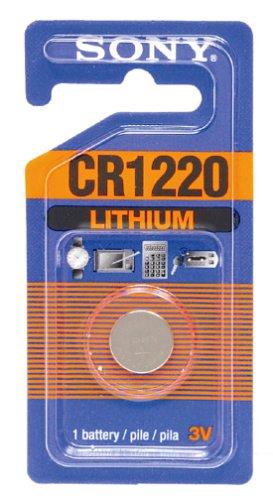 Sony CR1220-B Lithium Coin Battery