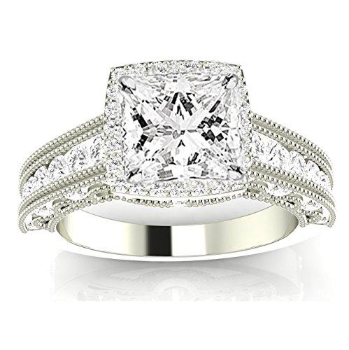 Diamond Vintage Style Ring - 2