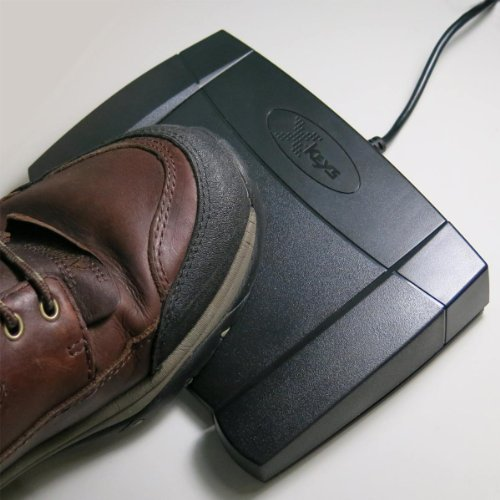 X-keys USB Foot Pedal for Playback ()