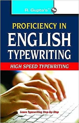 ENGLISH TYPEWRITING BOOK PDF