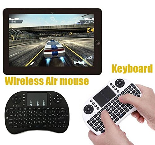 Wireless Keyboard Gaming Mouce with Touchpad for Pc,pad,android Tv (Elite Lighted Keypad)