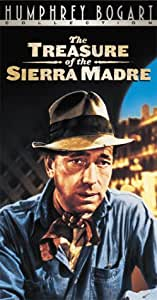The Treasure of the Sierra Madre [VHS]