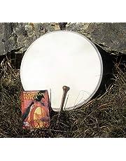 Mid-East - Bodhrán (tambor celta irlandés, se puede afinar, incluye libro de texto en inglés)