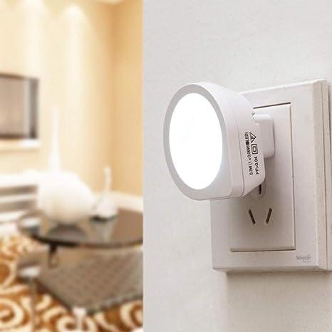 Night Light taottao Luz Lámpara de noche Kon trollierte creativos inteligente de inducción bajo cama,