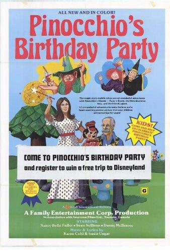 Fiesta de cumpleaños de pinocho Póster de película 11 x 17 ...