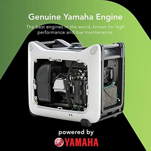 Yamaha 3000 Generator >> Atima AY3000i 3000 Watt Small & Quiet Portable Inverter Generator, Gas Powered Yamaha Engine for ...