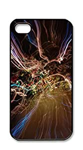 NBcase Abstract Lights hard PC iphone 4 cases for guys with girls