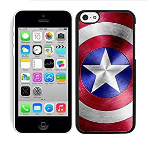 HARD CASE COVER FITS IPHONE 5C CAPTAIN AMERICA SHIELD by ruishername