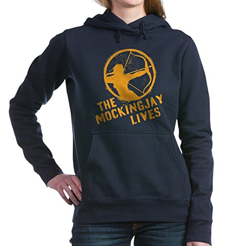 CafePress - The Mockingjay Lives Women's Hooded Sweatshirt - Pullover Hoodie, Classic & Comfortable Hooded Sweatshirt